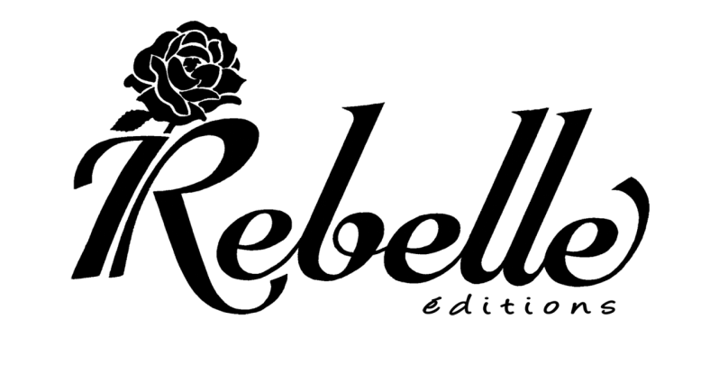 Logo rebelle edition blanc rose noire 2